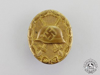 Germany. A Gold Grade Wound Badge; Marked 30