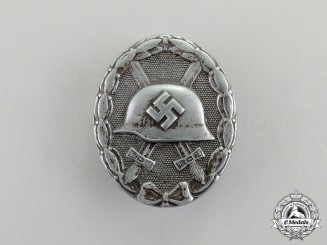 Germany. A Third Reich Period Silver Grade Wound Badge