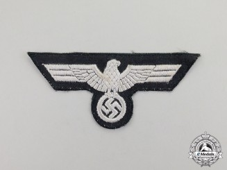 Germany. A Third Reich Period Wehrmacht Panzer EM/NCO's Breast Eagle