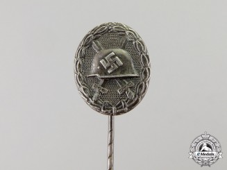 Germany. A Silver Grade Wound Badge Miniature Stick Pin