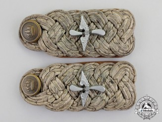Germany. A Set of Imperial Bavarian Major Flying Korps Shoulder Boards