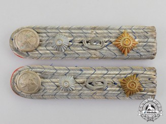 Germany. A Set of Bavarian Field Artillery Regiment Shoulder Boards