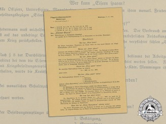 A 1941 Luftwaffe Airbase Notice