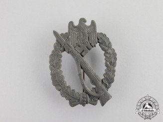 Germany. A Second War Period Silver Grade Infantry Assault Badge by Richard Souval