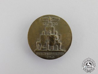 Germany. A 1936 NSDAP National Party Day Badge by Deschler& Sohn