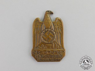 Germany. A 1933 NSDAP National Party Day in Nürnberg Badge