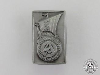 Germany. A 1938 North Sea SA Championships Badge
