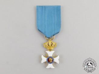 Spain. An Order of Maria Isabella Louisa, Enamelled Cross (1839-1868)