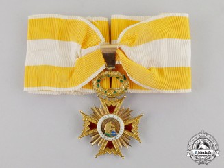 Spain. An Order of Isabella the Catholic, Commander, Type I, c.1920