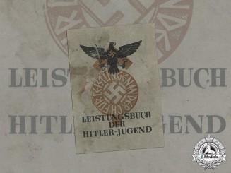 Germany. An Unused HJ Proficiency Book