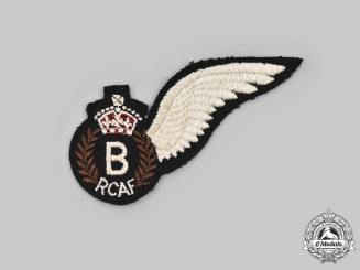 Canada, Commonwealth. A Royal Canadian Air Force (RCAF) Bombardier (B) Wing, c.1944