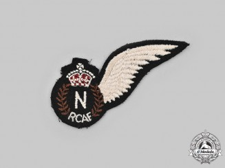 Canada, Commonwealth.  A Royal Canadian Air Force (RCAF) Navigator (N) Wing, c.1944