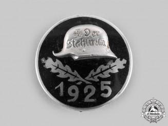 Germany, Der Stahlhelm. A 1925 Stahlhelm Membership Badge, Large Version, by Stahlhof Magdeburg