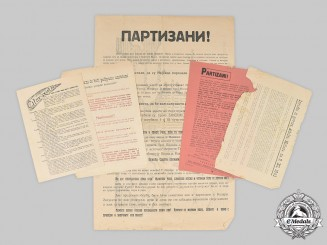Croatia, Independent State. A Lot of Anti-Partisan Propaganda Publications