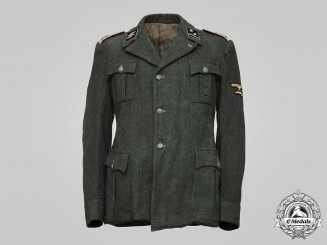 Germany, SS. A 29th Waffen Grenadier Division of the SS (1st Italian) Panzerjäger Hauptscharführer's Tunic
