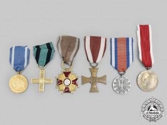 Poland, Republic, People's Republic. A Lot of Six Awards