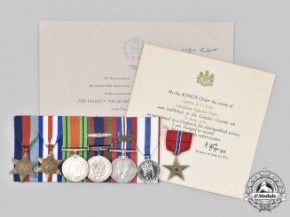 Canada, Commonwealth. An MID & Bronze Star Group to Captain/Acting Major Robert Lundy Grout
