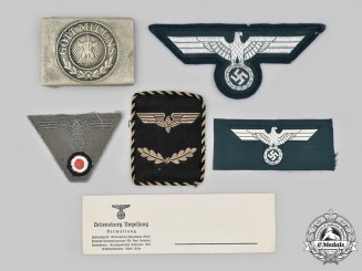 Germany. A Lot of Uniform Accessories and Insignia