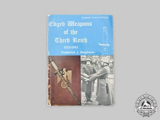 Germany, Third Reich. Edged Weapons of the Third Reich 1933-1945