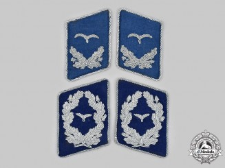 Germany, Luftwaffe. A Lot of Collar Tabs