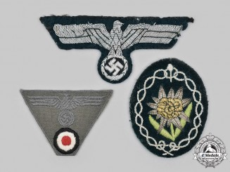 Germany, Heer. A Lot of Uniform Insignia