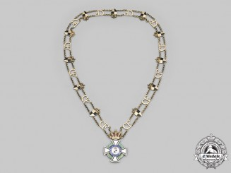 Hohenzollern, Dynasty. An Exquisite Collar of the House Order of Hohenzollern, c.1930