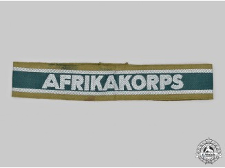 Germany, Heer. An Afrika Korps Cuff Title, Heer Issue