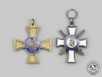 Germany, Imperial. A Pair of Miniature Orders