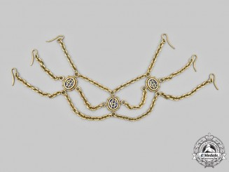 Vatican. An Upper Collar Chain of a Papal Honorary Secret Chamberlain, c.1930