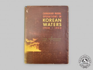 Canada. Canadian Naval Operations in Korean Waters 1950-1955