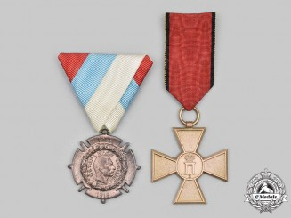 Serbia, Kingdom. Two War Commemorative Awards
