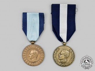 Iran, Pahlavi Empire. Two Medals