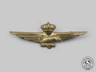 Italy, Kingdom. A Pilot Badge, c.1940