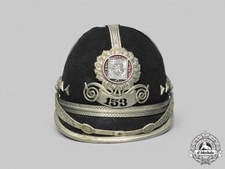 Czechoslovakia, I Republic. A Municipal Police Felt Helmet