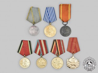 Poland, Russia, Yugoslavia. A Lot of Medals & Decorations