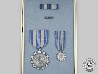 United States. An Air Force Achievement Medal, Cased