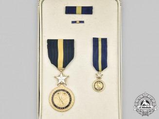 United States. A Navy Distinguished Service Medal, Cased
