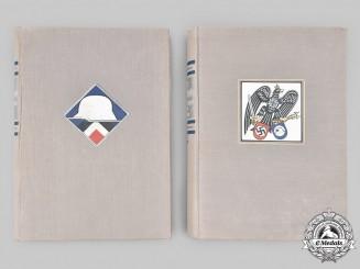 Germany, Third Reich. A Two-Volume Set of Der Stahlhelm: Erinnerung und Bilder