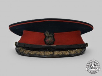 Canada, Dominion. A Canada Militia Brigadier Staff/Colonel's No. 1 Dress Visor Cap by Muir Cap Co. Ltd. of Toronto