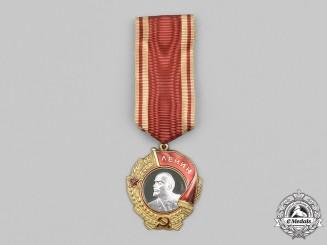 Russia, Soviet Union. An Order of Lenin, Type 6, Variation 1