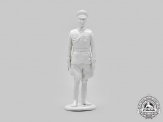 Germany, Federal Republic. A Wehrmacht General Porcelain Figurine, by Karl-Heinz Klette, c.1957