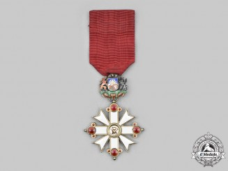 Latvia, Republic. An Order of Vesthardus (AKA Order of Viesturs), V Class Knight, Civil Division
