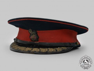 Canada, Dominion. A Canada Militia Brigadier Staff/Colonel's No. 1 Dress Visor Cap by Muir Cap Co. Ltd. of Toronto