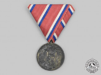 Croatia, Independent State. A Medal for the 25th Anniversary of Croatian Independence 1918-1943