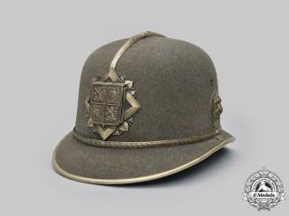 Bohemia and Moravia, Protectorate. A Felt Police Helmet