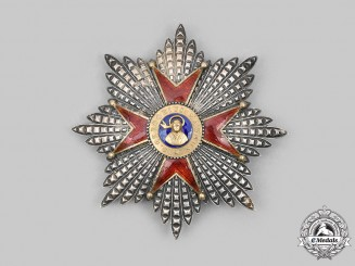 Vatican. An Equestrian Order of St. Gregory the Great, Grand Cross Star, c.1935