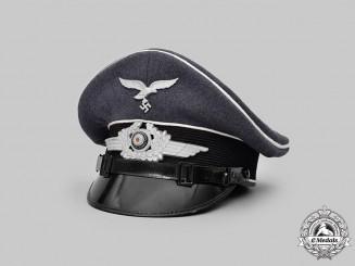 "Germany, Luftwaffe. A 1st Fallschirm-Panzer Division ""Hermann Göring"" EM/NCO's Visor Cap"