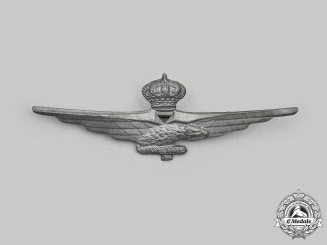 Italy, Facist State. An Air Force Pilot Badge, c.1940