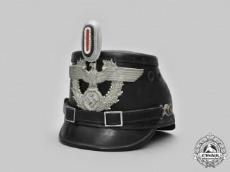 Germany, Schutzpolizei. An EM/NCO's Shako, by H. Becker & Co.
