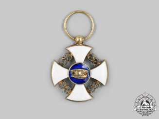 Italy, Kingdom. An Order of the Crown, Gold, Miniature, c.1900